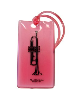 Musical Instrument Identification Tag - Trumpet  | Trumpet
