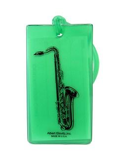 Musical Instrument Identification Tag - Saxophone  | Saxophone