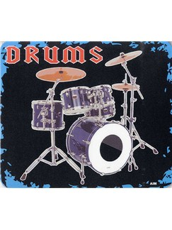 Mouse Mat: Drums Design  | Drums