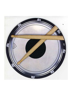 Mouse Mat: Drum Head And Sticks Design  |