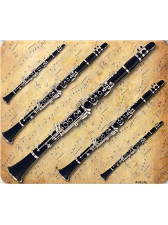 Mouse Mat: Clarinets Design  | Clarinet