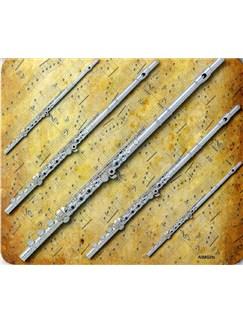 Mouse Mat: Flutes Design  | Flute