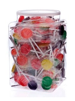 Music Notes Lollipops x 200 - In Jar  |