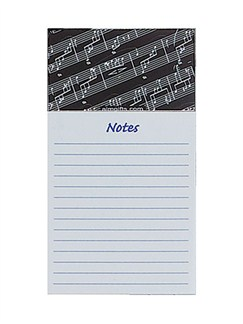 Magnetic Note Pad: Sheet Music  |