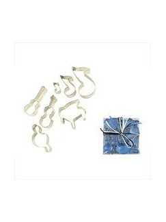 Cookie Cutters: Assorted Musical Shapes - 7 Pieces  |