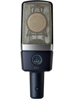 AKG: C214 Large Diaphragm Condenser Microphone  |