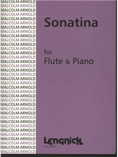 Malcolm Arnold: Sonatina For Flute And Piano Books | Flute, Piano Accompaniment
