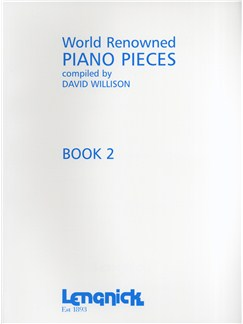 World Renowned Piano Pieces Book 2 Books | Piano