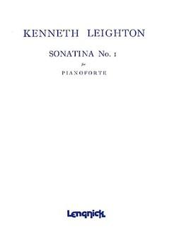Kenneth Leighton: Sonatina No.1 (Piano Solo) Books | Piano