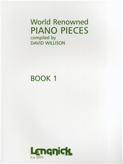 World Renowned Piano Pieces Book 1 Libro | Piano