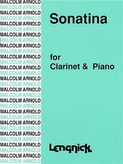 Malcolm Arnold: Sonatina Op.29 For Clarinet And Piano Books | Clarinet, Piano Accompaniment