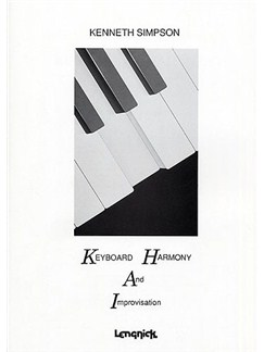 Kenneth Simpson: Keyboard Harmony And Improvisation Books | Keyboard, Organ, Piano