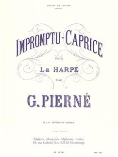 Gabriel Pierné: Impromptu-Caprice Op.9 (Harp Solo) Books | Harp