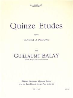 Guillaume Balay: 15 Etudes (Cornet/Trumpet) Books | Trumpet, Cornet