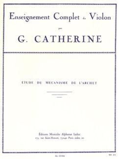étude Du Mécanisme De L'archet (Enseignement Complet Du Violon) Books | Violin