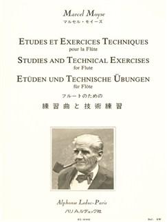 Moyse M: études et exercices techniques Flûte traversière Livre | Flûte Traversière