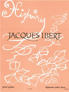 Jacques Ibert: Histoires Books | Piano