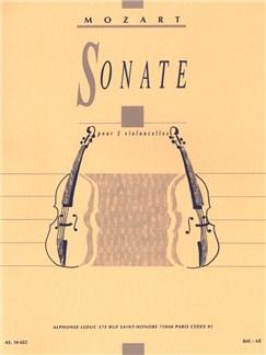 Wolfgang Amadeus Mozart: Sonata (Violoncelles 2) Livre | Violoncelle