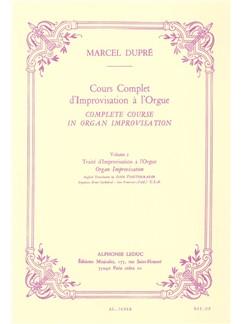 Marcel Dupré: Cours Complet D'Improvisation A L'Orgue (Volume 2) Livre | Orgue