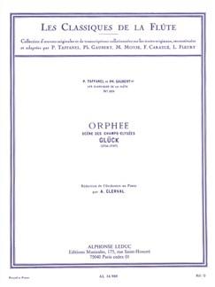 Christoph Willibald Von Glück: Orphée - Scène Des Champs Elysées (Flute/Piano) Books | Flute