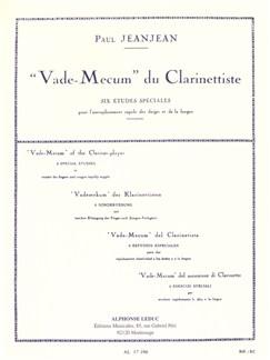 Paul Jeanjean: Vade-Mecum du Clarinettiste (Clarinet Solo) Buch | Klarinette