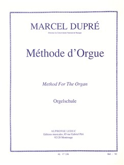 Marcel Dupré - Méthode D'orgue Books | Organ, Study Guide