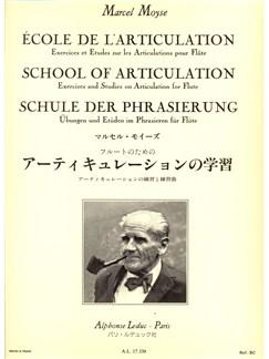 Marcel Moyse: Ecole De L'Articulation (Flute) Books | Flute