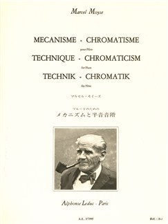 Marcel Moyse: Technique-Chromaticism (Flute) Books | Flute