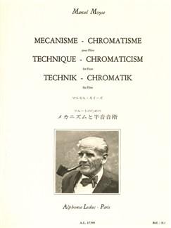 Marcel Moyse: Technique-Chromaticism (Flûte) Livre | Flûte Traversière