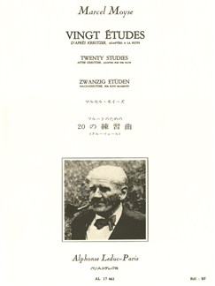 Marcel Moyse: Twenty Studies after Kreutzer, adapted for Flute Books | Flute