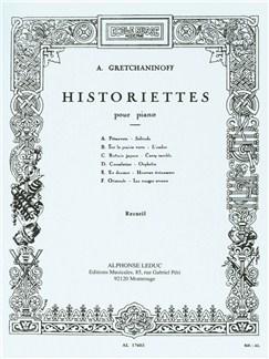 Alexander Gretchaninoff: Historiettes (Piano) Books | Piano