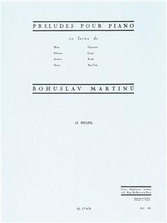 Bohuslav Martinů: Préludes Books | Piano