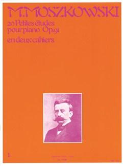 Moszkowski: 20 petites études op91 volume  1 Piano Livre | Piano