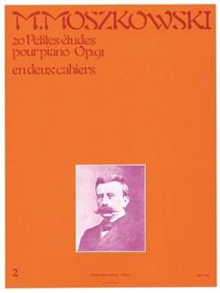 Moritz Moszkowski: 20 Petites Etudes Op.91 Vol.2 (Piano) (Philipp) Books | Piano