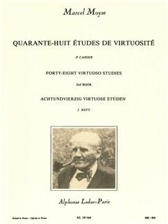 Marcel Moyse: 48 Etudes De Virtuosité Vol.2 Buch | Querflöte