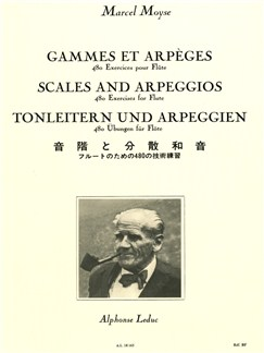 Marcel Moyse: Scales And Arpeggios Books | Flute