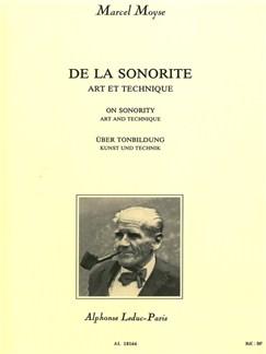 Marcel Moyse: De La Sonorité Art Et Technique (Flute) Books | Flute