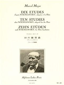 Marcel Moyse: 10 Etudes D'Après Wieniawsky (Flute) Buch | Querflöte