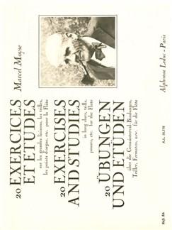20 Exercices et etudes sur les grandes liaisons pour flûte Livre | Flûte Traversière, Guide d'études, Partitions
