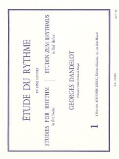 Georges Dandelot: Etude Du Rythme - Volume 1 Livre |