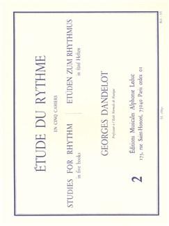 Dandelot: Etude Du Rythme Volume 2 Books |