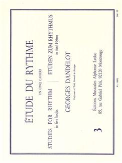 Georges Dandelot: Étude Du Rythme (Volume 3) Livre |
