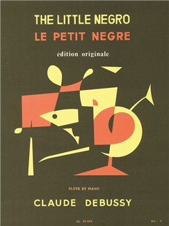 Debussy: Petit Negre Flute Traversière Et Piano Books | Flute