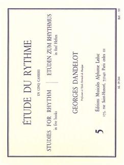 Georges Dandelot: Étude Du Rythme - Volume 5 Books |
