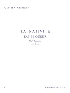 Olivier Messiaen: La Nativité Du Seigneur Vol. 2 Books | Organ