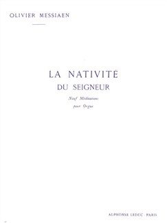 Olivier Messiaen: La Nativite Du Seigneur Vol.3 Books | Organ