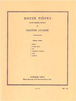 Gaston Litaize: Douze Pièces Vol.1 (Organ) Books | Organ