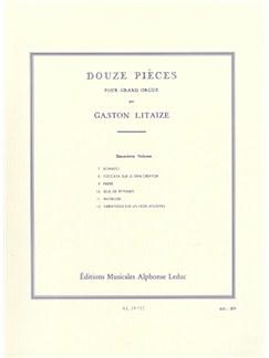 Gaston Litaize: Douze Pièces Vol.2 (Organ) Books | Organ