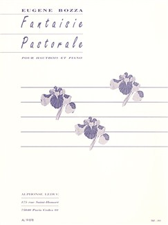 Eugène Bozza: Fantaisie Pastorale For Oboe And Piano Libro | Oboe, Acompañamiento de Piano
