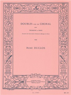René Duclos: Doubles Sur Un Choral (Trombone/Piano) Books | Trombone, Piano Accompaniment